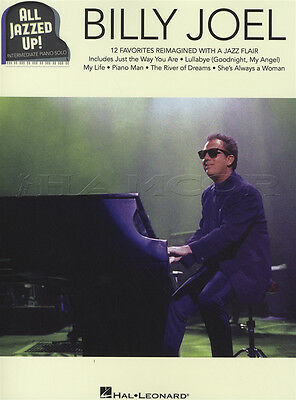 All Jazzed Up Billy Joel Piano Solo Sheet Music Book Jazz Always A Woman My Life