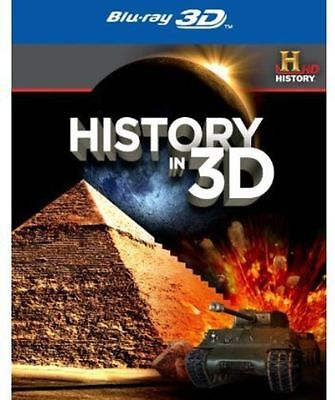 History in 3D [Blu-ray] New DVD! Ships Fast!