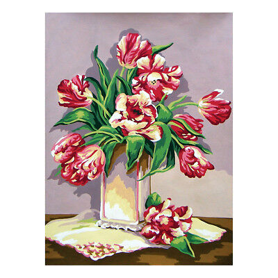 COLLECTION D'ART | Printed Canvas: Wild Tulips |CD10436