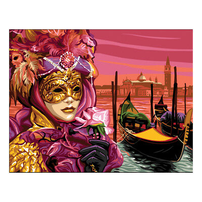 Royal Paris Tapestry Printed Canvas Venice Masquerade | 98801420493
