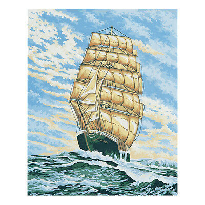 COLLECTION D'ART | Printed Canvas: Under Full Sail |CD11844