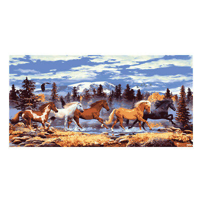COLLECTION D'ART | Printed Canvas: Wild Horses |CD13982