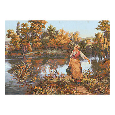 COLLECTION D'ART | Printed Canvas: The Water Carrier |CD14260