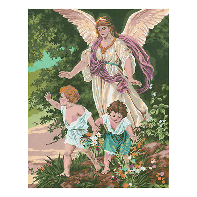 COLLECTION D'ART | Printed Canvas: Guardian Angel Children |CD11509