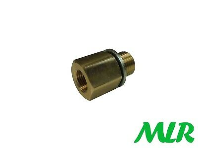 Oil Temp Gauge Sump Plug Adaptor For Nissan S13 S14 Sr20 Skyline R32 R33 R34 Asq