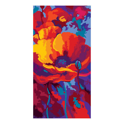 COLLECTION D'ART | Printed Canvas: Poppy Close Up |CD8060