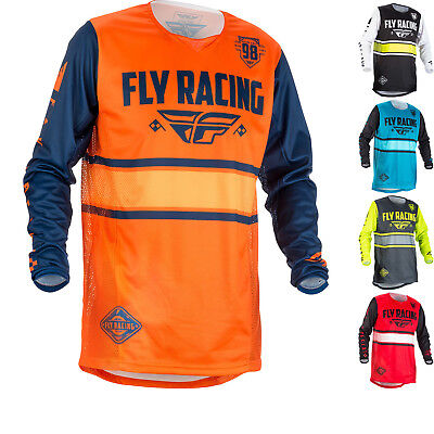 Fly Racing 2018 Kinetic Era Youth Motocross Jersey Junior Dirt Bike ATV Vented