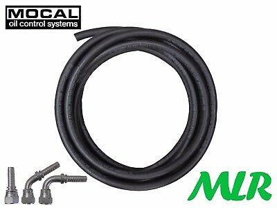 Mocal 100R6-10 An -10 Jic Rubber Oil Cooler Hose Pipe Straight 45 90 Fittings