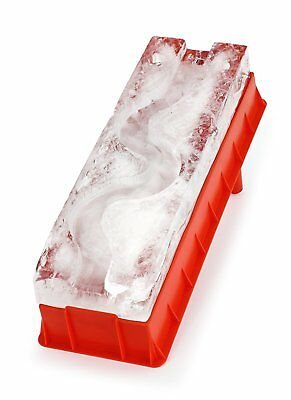 Ice Luge Slide Cube Freezer Tray for Serving Party Drinks Cocktail Cool Bar Tool