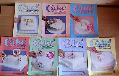 7 x CAKE DECORATING The Complete Guide Orbis Parts 2/4/5/8/10/39/59 Job Lot B