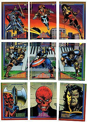 1993 Skybox Marvel Universe IV X-men Base Card You Pick Finish Your Set 91-180
