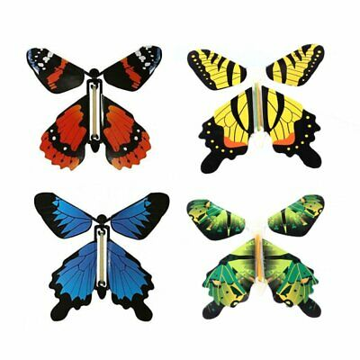 4pcs/set Best Gift Card Magic Flying out Paper Butterfly Surprise Birthday Gifts