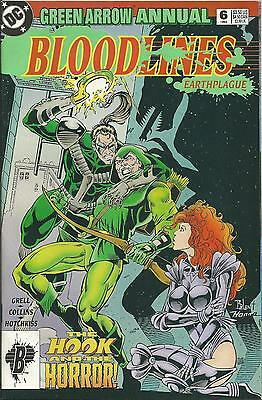 "Green Arrow Annual #6 (Dc) (1993)  (""bloodlines"")"