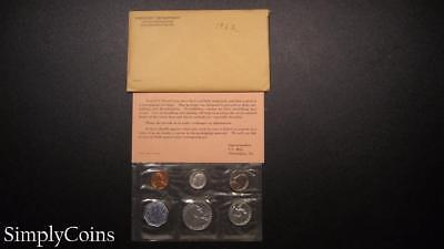 1962 Proof Set ~ Original Envelope With COA ~ US Mint Silver Coin Lot SKU-276