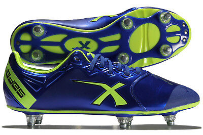 X Blades Mens Sniper Speed 6 Stud SG Rugby Boots Shoes Footwear Sports Training