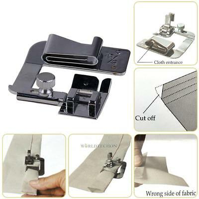 3pcs Domestic Sewing Machine Foot Presser Rolled Hem Feet Set for Brother Singer