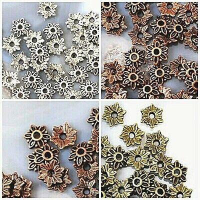 80pcs Bead Cap Finding,antique copper,antique brass,antique silver,pick color
