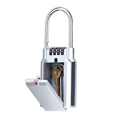 Large Car Key Security Safe Box Lock Combination Home Outdoor Portable