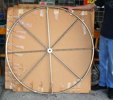 Edson Yacht Wheel, Stainless, Large, 1.38M Diameter