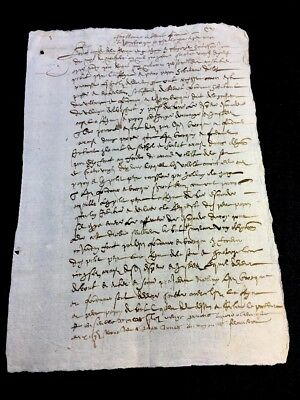 Very Old Document 1599