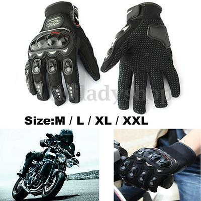 Carbon Fiber Motorcycle Motorbike Racing Riding Protective Waterproof Gloves AU