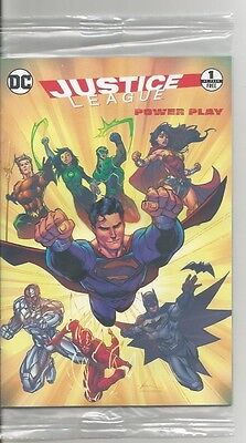 "Justice League ""Power Play"" General Mills Mini Comic DC COMICS 1 of 4 NEW"