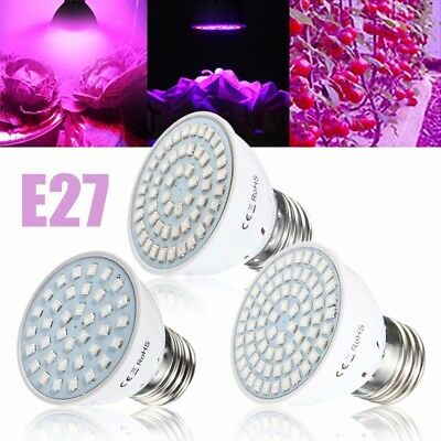E27 18/27/36W Full Spectrum LED Grow Light Plant Flower Hydroponic Aquarium Bulb