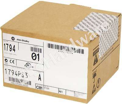 New Sealed Allen Bradley 1794-PS3 /A FLEX /A I/O Power Supply 24V DC