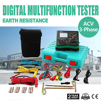 All-powerful Insulation Resistance Tester detector megger LCD 1000V DY5500