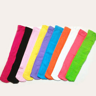 Women Solid Color Long Boot Socks Over the Knee Thigh High School Girl Stocking