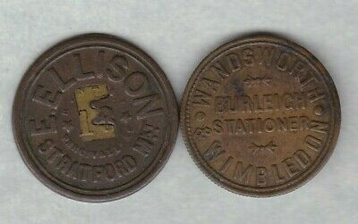 Wandsworth & Wimbldon £1 Advertising Token In Good Very Fine Condition
