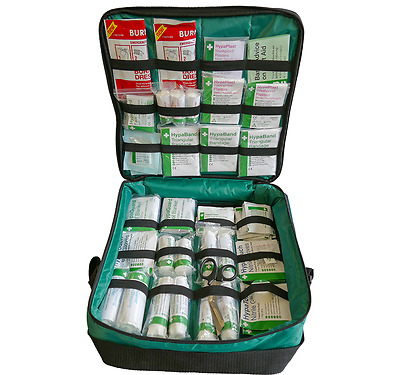 Emergency First Response First Aid Kit Bag - EMT - Standard or Trauma Kit