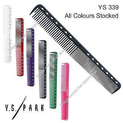 Y S Park Comb YS - 339 Hairdressing High Quality Cutting Comb ALL COLOURS