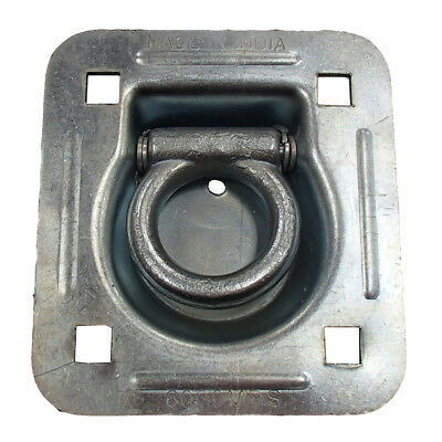 (1) Anchor Point Rope Tie Down Bolt-on Recessed Mount 6,000 lb. D-Ring RDR5