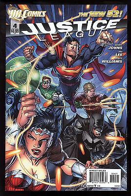 Justice League (2011) #4 First Print 1 in 25 Andy Kubert Var CV Lee Williams NM-