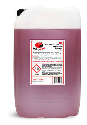 Tfr Caustic Traffic Film Remover 25 Litre Hgv/Van Chassis/Yard Cleaner-Free P+P
