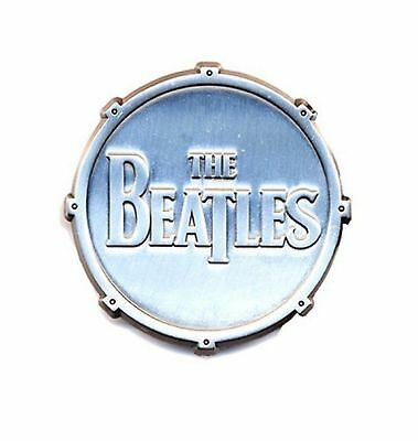 The Beatles Drum drop t band Logo new Official metal Pin Badge One Size