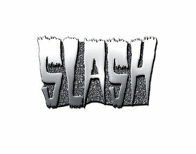 Slash Logo new Official Metal Pin badge One Size