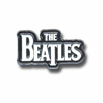 The Beatles white Drop T Logo new Official Metal Pin badge One Size