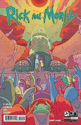 Rick and Morty #14 Fowler Cannon 1st Print Oni Comic Book NM  wh