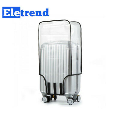 Universal Waterproof Transparent Protective Luggage Suitcase Travel Cover Case