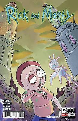 Rick and Morty #17 Cannon Starks Ellerby 1st Print Oni Comic Book NM  wh