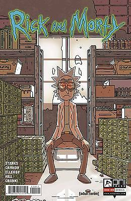 Rick and Morty #19 Starks Cannon 1st Print Oni Comic Book NM  wh