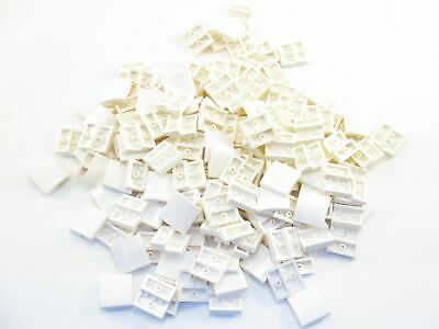LEGO White Slope Curved 2x2 No Studs Lot of 100 Parts Pieces 15068
