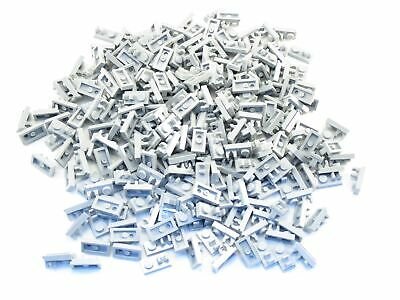 LEGO Light Bluish Gray Plate Modified 1x2 Handle on Side Lot of 100 Parts Pieces