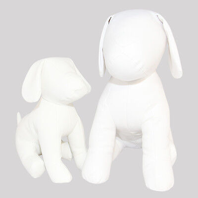 LARGE new white Cleo dog mannequin retail display model for pet accessories