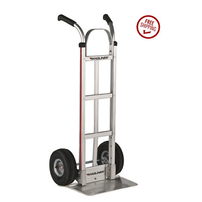 Magliner Aluminum Hand Truck for Small Packages 216-G1-1060 Air Tires