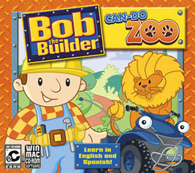 Bob the Builder Can Do Zoo educational cd-rom for PC