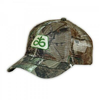 PIONEER SEED *REALTREE AP HD CAMO MESH* Trademark Logo CAP HAT *NEW* PS08