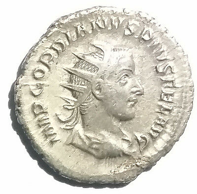 Ancient Roman Empire Silver Coin Gordian III 238AD-244AD Felicitas